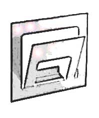 Газетница из картона