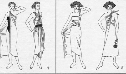 платье на раз
